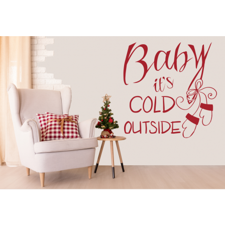 Baby it´s cold outside Handschuhe
