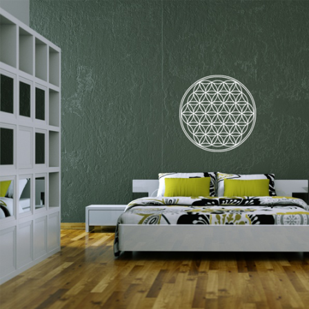 blume des lebens wandtattoo bilder motive wandtattoos klebefolienshop. Black Bedroom Furniture Sets. Home Design Ideas