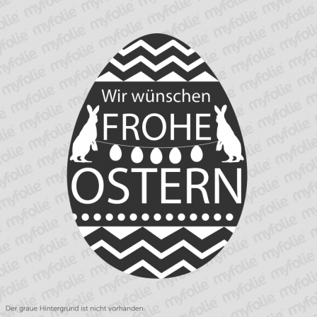 Aufkleber Frohe Ostern 11