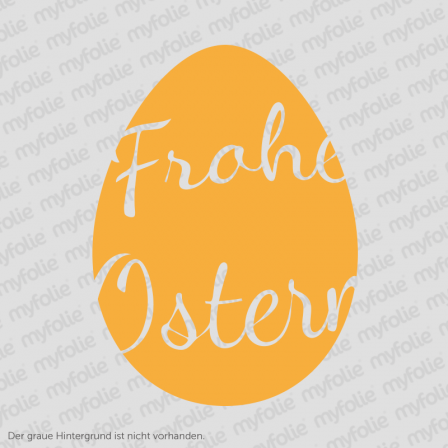 Aufkleber Frohe Ostern 9