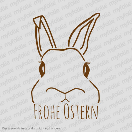 Aufkleber Frohe Ostern 2
