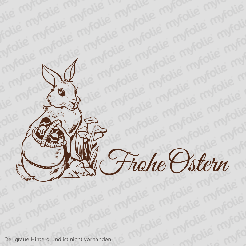 Aufkleber Frohe Ostern