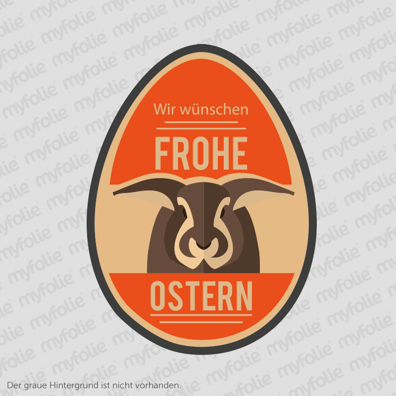 Aufkleber Frohe Ostern 12