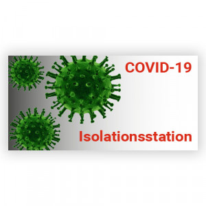 Aufkleber Virus Isolation Station 1