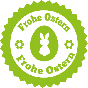 Aufkleber Frohe Ostern 8