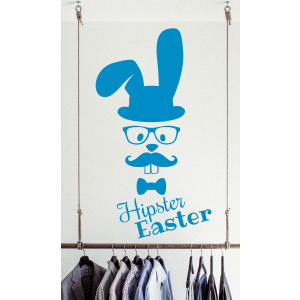 Hipster Easter Hase Ostern